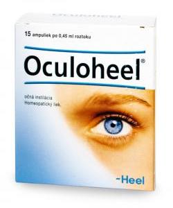 Oculoheel - Homeopatický liek na očné zápaly