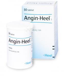 Angin-Heel S - Homeopatický liek na bolesti hrdla