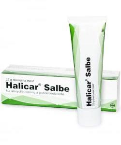 Halicar - Homeopatický liek na zápaly kože rozličného pôvodu