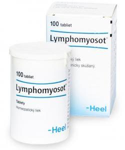 Lymphomyosot - Homeopatické tablety na podporu imunity a lymfodrenáž