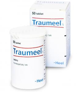 Traumeel S tablety - Homeopatické tablety s využitím pri zraneniach každého druhu a pri zápalových ochoreniach
