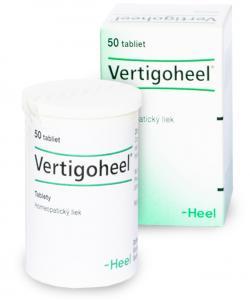Vertigoheel - Homeopatický liek na závraty podmienené aterosklerotickým procesom